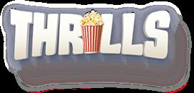 thrills popcorn logo