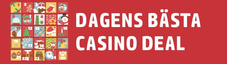 dagens bästa casino bonus